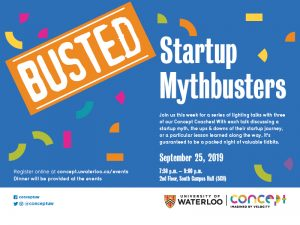 Startup Mythbusters