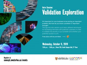 Validation Exploration poster Concept by Velocity
