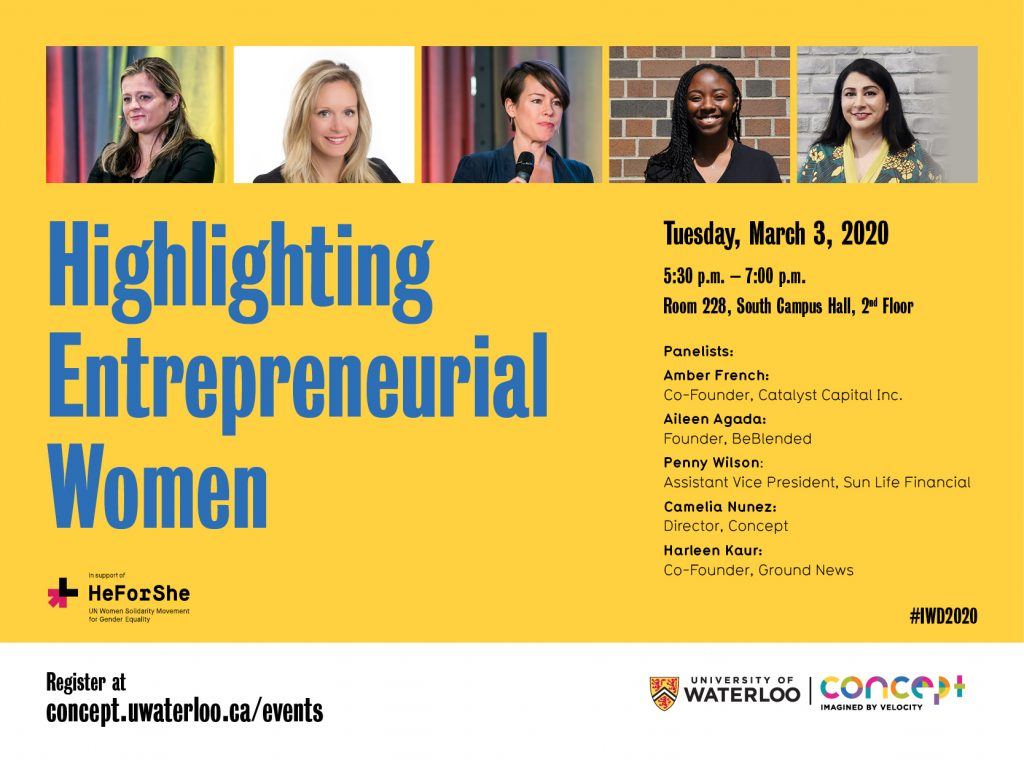 Highlighting Entrepreneurial Women