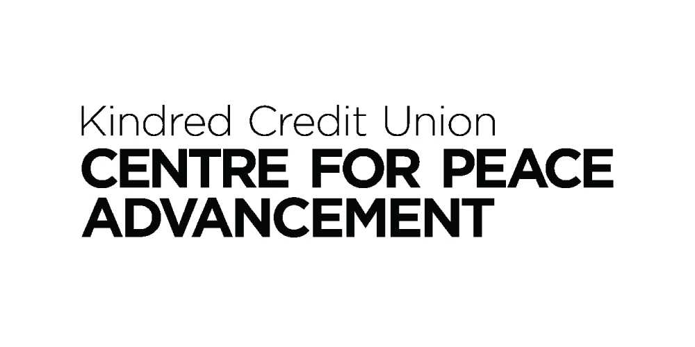 Kindred Credit Union Centre for Peace Advancement logo